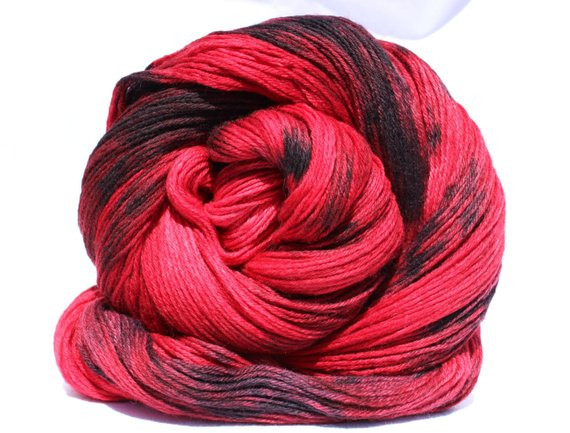 Red and Black Yarn Beautiful Hand Dyed Yarn Red Black Yarn Merino Cashmere Nylon Of Lovely 45 Images Red and Black Yarn