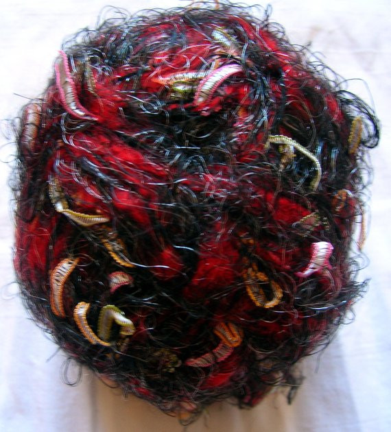 Red and Black Yarn Best Of Joker Fancy Scarf Yarn Shaggy Yarn Inmulticolor Of Lovely 45 Images Red and Black Yarn