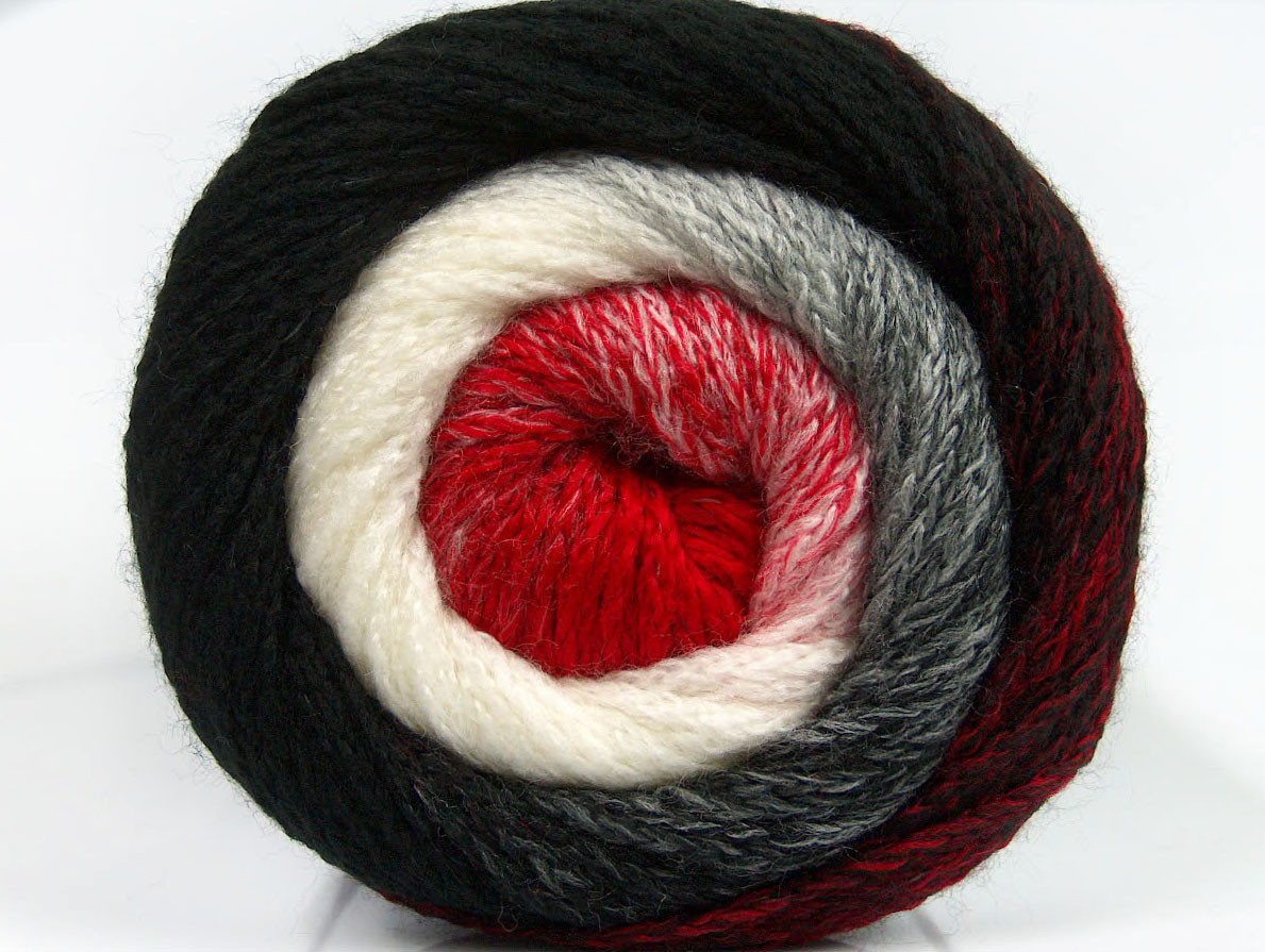 Red and Black Yarn Elegant Lot Of 2 X 200gr Skeins Ice Yarns Cakes Chain Yarn Black Of Lovely 45 Images Red and Black Yarn