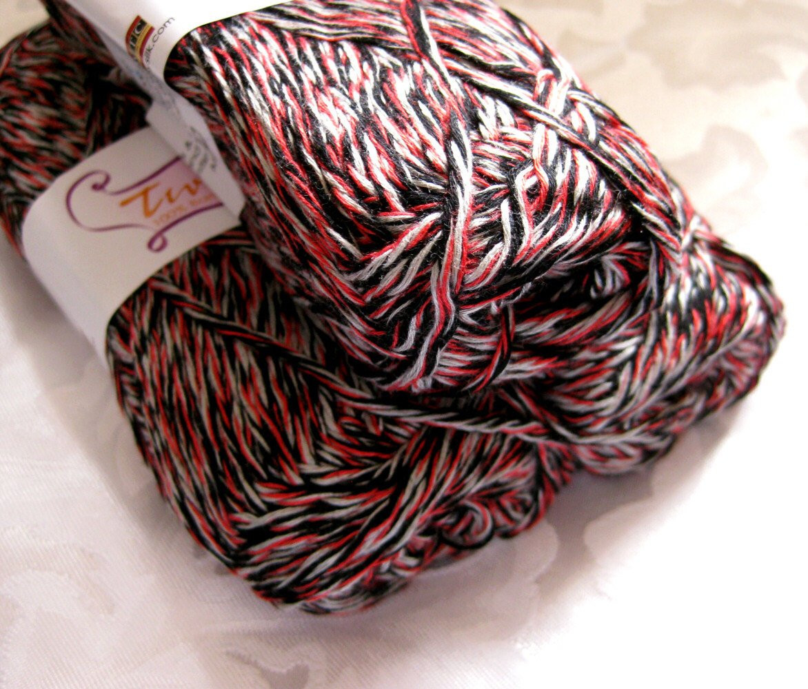 Red and Black Yarn Lovely Bamboo Yarn Black White Red Swtc Twize In Twen by Crochetgal Of Lovely 45 Images Red and Black Yarn