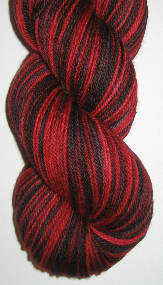 Red and Black Yarn Lovely Hand Dyed Red and Black Superwash Merino Wool sock Yarn Of Lovely 45 Images Red and Black Yarn