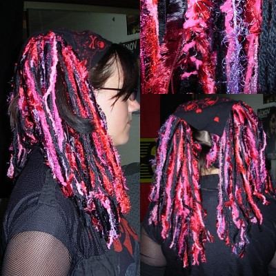 Red and Black Yarn Lovely Yarn Dread Falls Red and Black by Katanscosplay On Deviantart Of Lovely 45 Images Red and Black Yarn