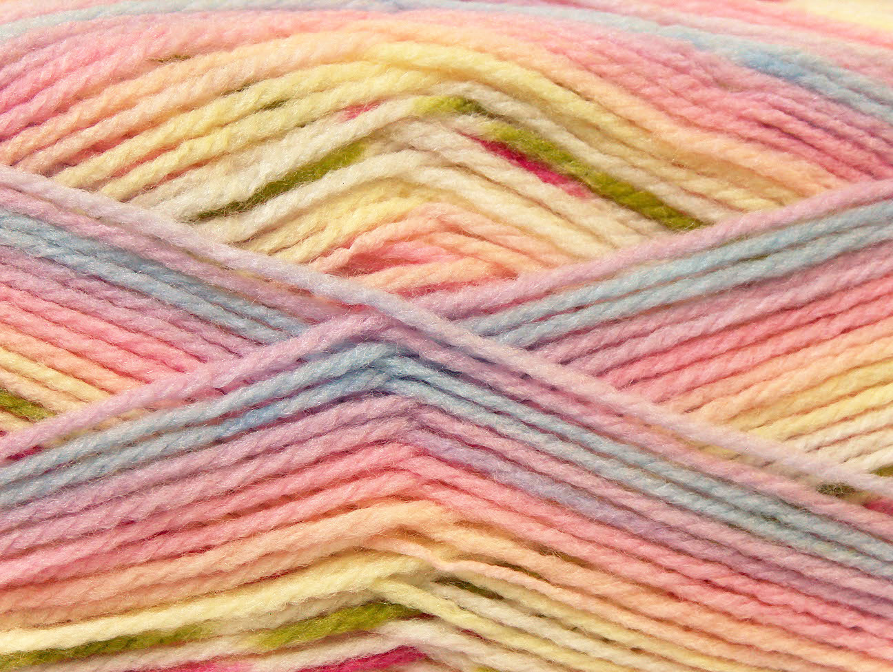 Baby Design Yellow Pink Lilac Blue Baby Yarns