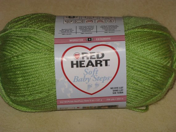 Red Baby Yarn Unique Red Heart soft Baby Steps Yarn Acrylic 1 New Skein Lime Green Of Attractive 48 Photos Red Baby Yarn