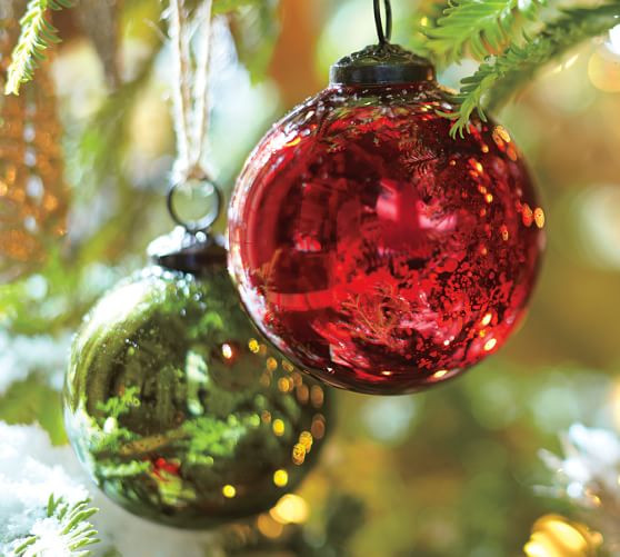 Red Christmas Balls Best Of Red & Green Mercury Glass Ball ornaments Set Of 6 Of Luxury 40 Pictures Red Christmas Balls