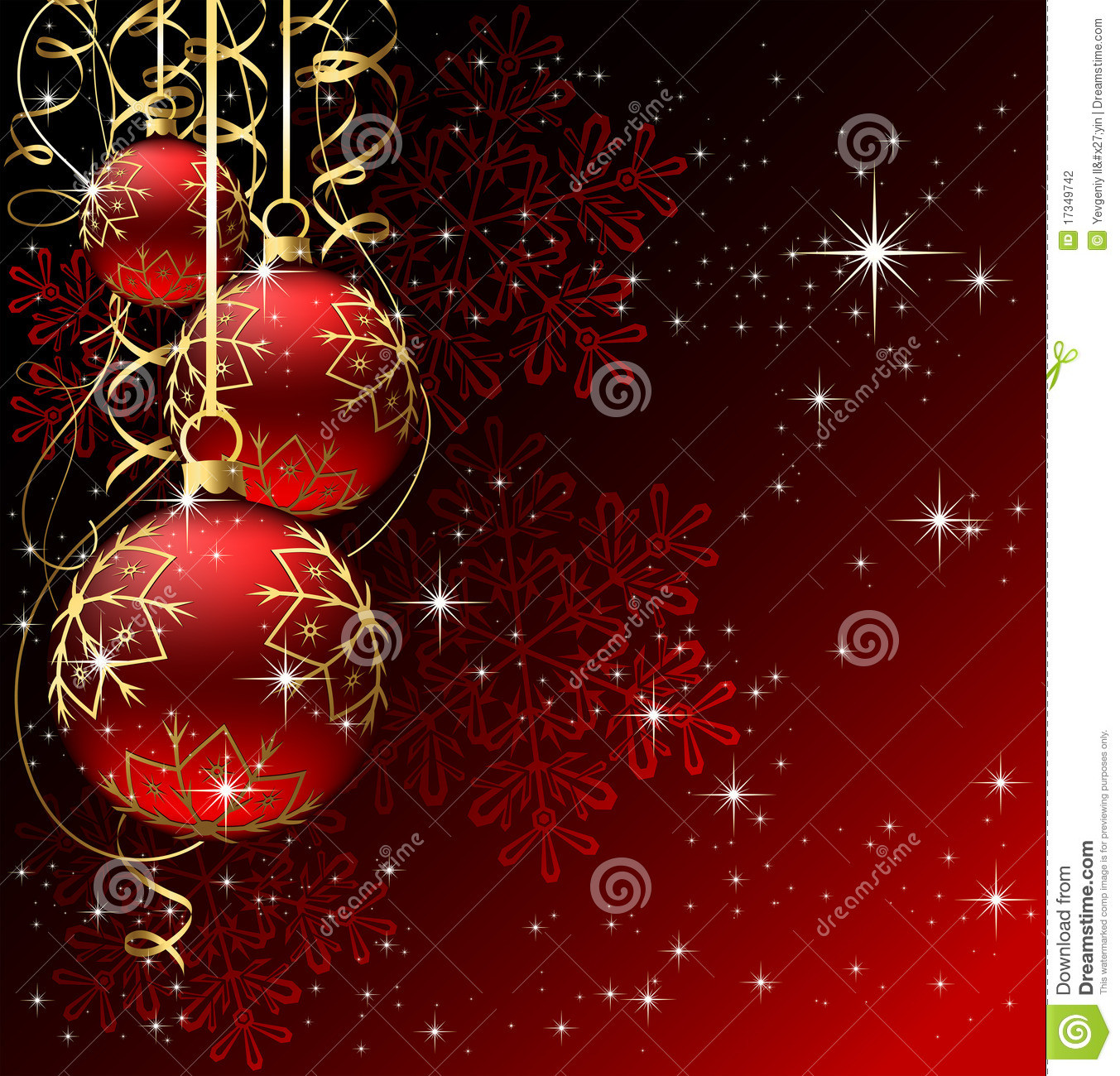 Red Christmas Balls Fresh Winter Background with Red Christmas Balls Stock Vector Of Luxury 40 Pictures Red Christmas Balls