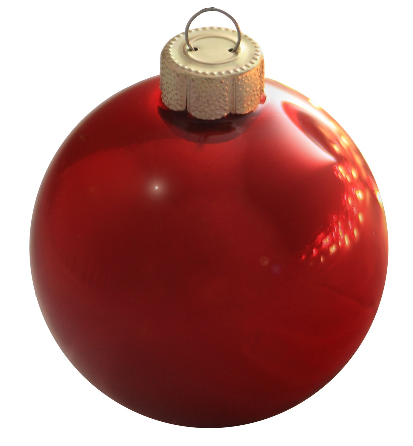 "Red Christmas ornaments Beautiful Christmas Decorations 7"" Christmas Red Ball ornament Of Delightful 47 Photos Red Christmas ornaments"