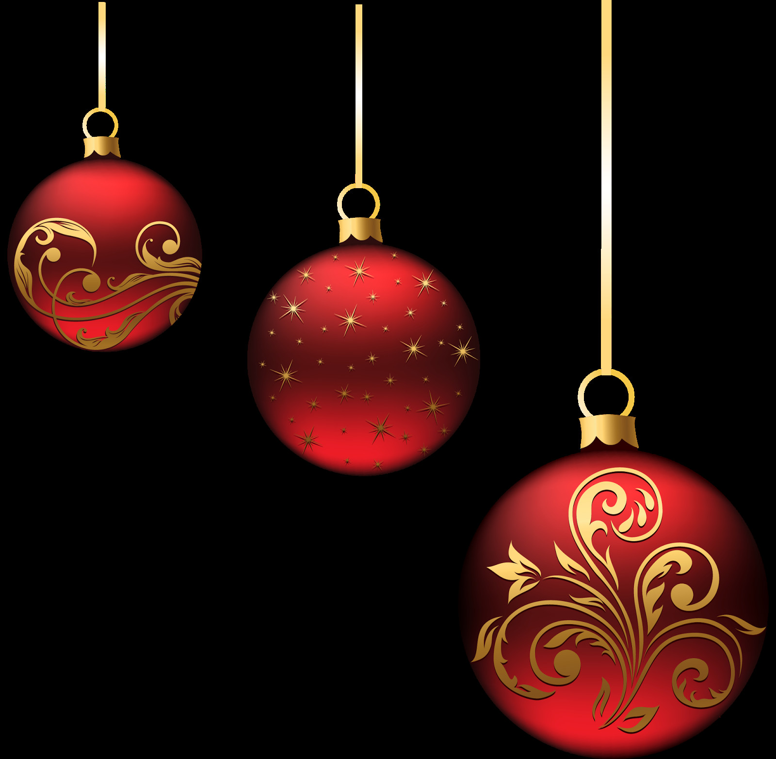 Red Christmas ornaments Elegant Christmas Decorations Of Delightful 47 Photos Red Christmas ornaments
