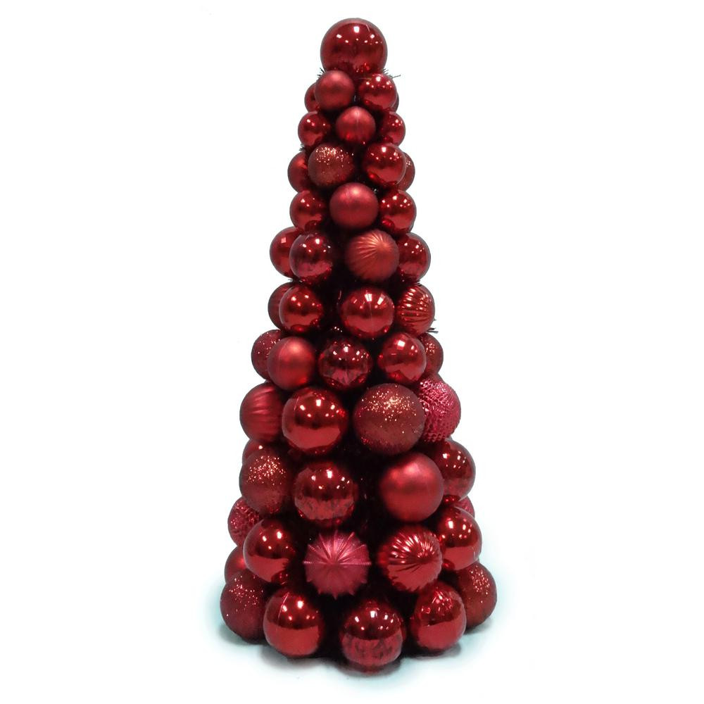 Red Christmas Tree ornaments Awesome Red Christmas Tree Decorations Ideas Christmas Of Attractive 44 Pics Red Christmas Tree ornaments
