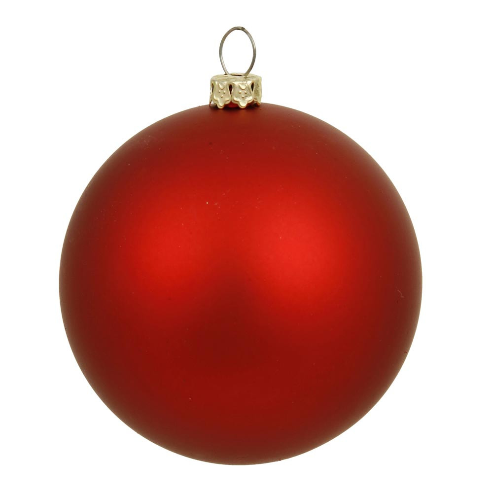 Red Christmas Tree ornaments Elegant 6 Inch Matte Finished Uv Shatterproof Christmas Ball Red Of Attractive 44 Pics Red Christmas Tree ornaments