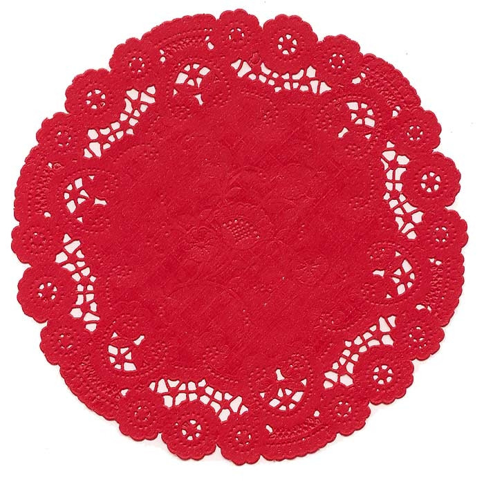 "Red Doilies Awesome 10 Fancy Red Doilies 6"" Of Luxury 43 Images Red Doilies"
