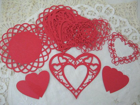 Red Doilies Beautiful Die Cut Doilies Paper Lace Hearts Red Doily for Of Luxury 43 Images Red Doilies