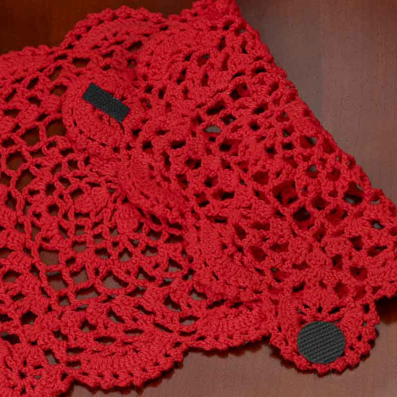 Red Doilies Beautiful Red Rectangular Crocheted Doily Crochet and Lace Doilies Of Luxury 43 Images Red Doilies