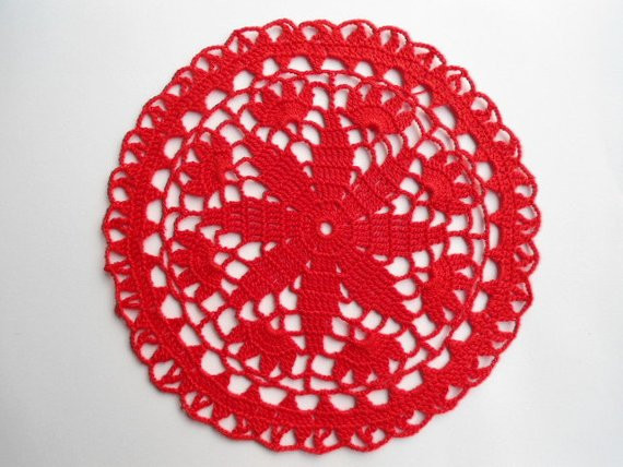 Red Doilies Beautiful Round Crochet Doily Red Doilies Lace 8 by Kroshetmania Of Luxury 43 Images Red Doilies