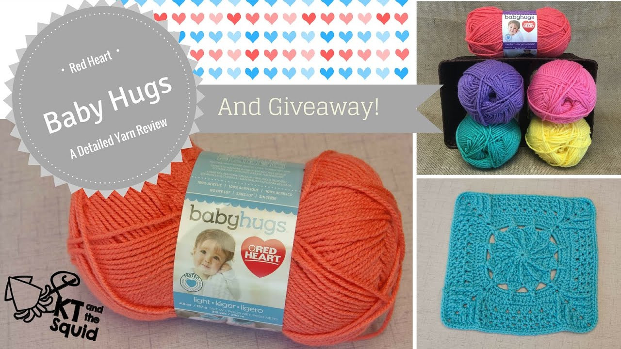 Red Heart Baby Hugs A Detailed Yarn Review and Giveaway