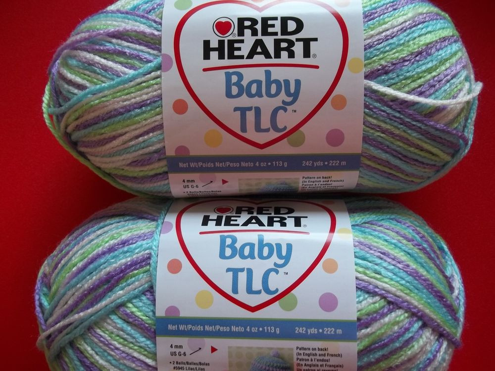 Red Heart Baby Yarn Beautiful Red Heart Baby Tlc Yarn Miami Lot Of 2 242 Yds Each Of Wonderful 48 Ideas Red Heart Baby Yarn