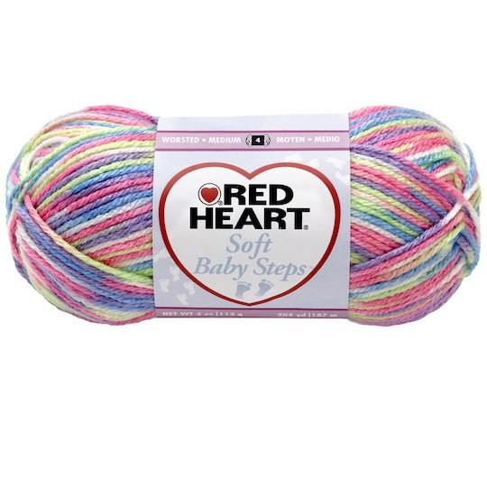 Red Heart Baby Yarn Inspirational Red Heart soft Baby Steps™ Yarn Print Of Wonderful 48 Ideas Red Heart Baby Yarn