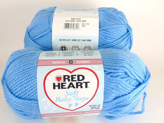 Red Heart Baby Yarn Lovely Baby Blue Red Heart soft Baby Steps Yarn Baby Yarn Of Wonderful 48 Ideas Red Heart Baby Yarn
