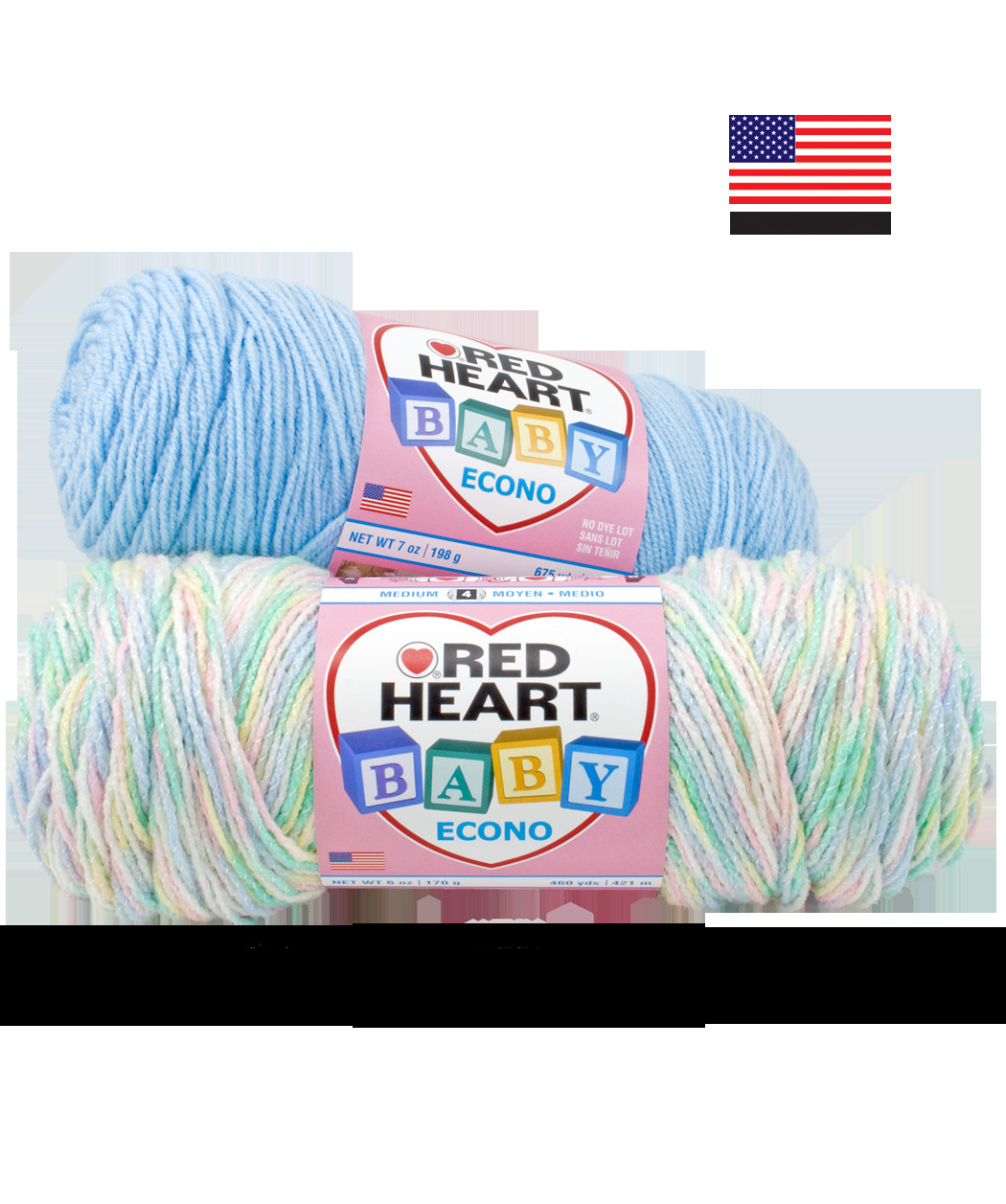 Made In USA Red Heart Yarns
