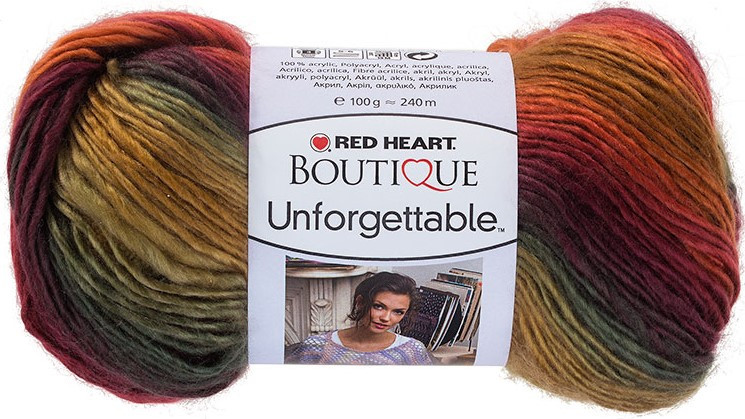 Red Heart Boutique UNFORGETTABLE Aran Yarn POLO