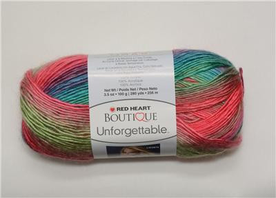 Red Heart Boutique Unfor table Yarn Color PARROT