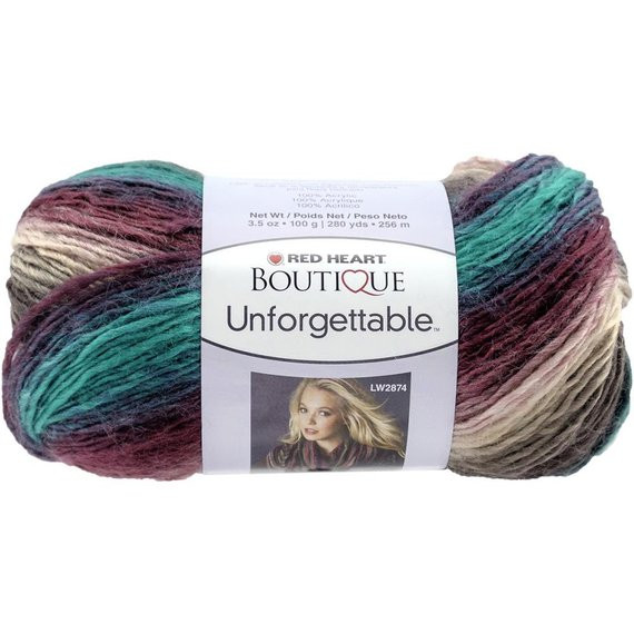 Red Heart Boutique Unfor table Yarn in by