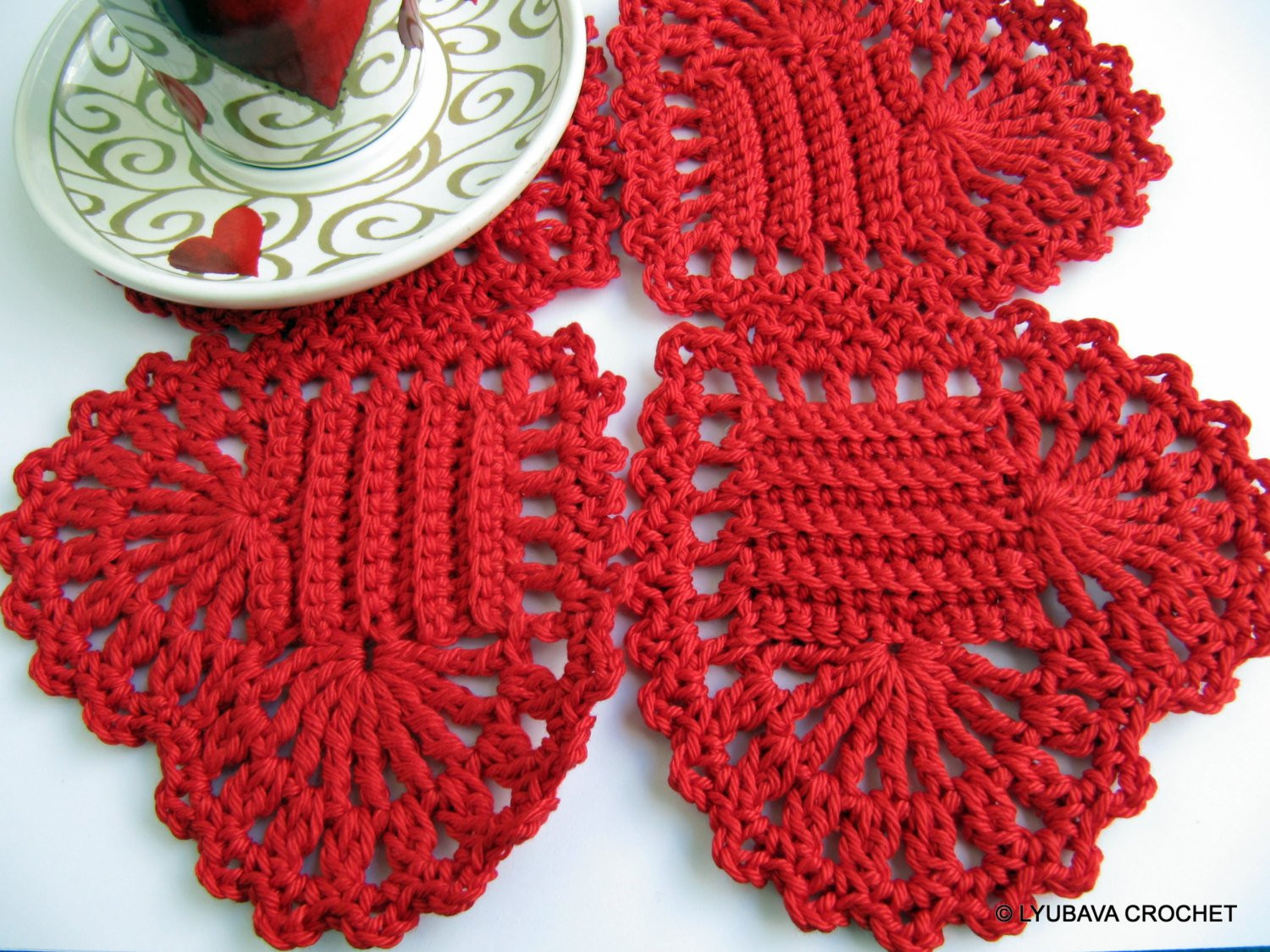Red Heart Crochet Beautiful Red Heart Coasters Pattern Crochet Home Decor Pattern Of Contemporary 50 Models Red Heart Crochet