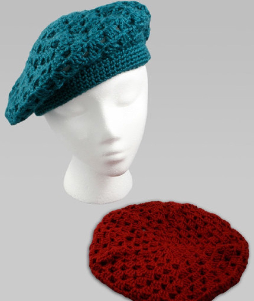 Red Heart Crochet Lovely Crochet Beret In Red Heart soft solids Wr1030 Of Contemporary 50 Models Red Heart Crochet