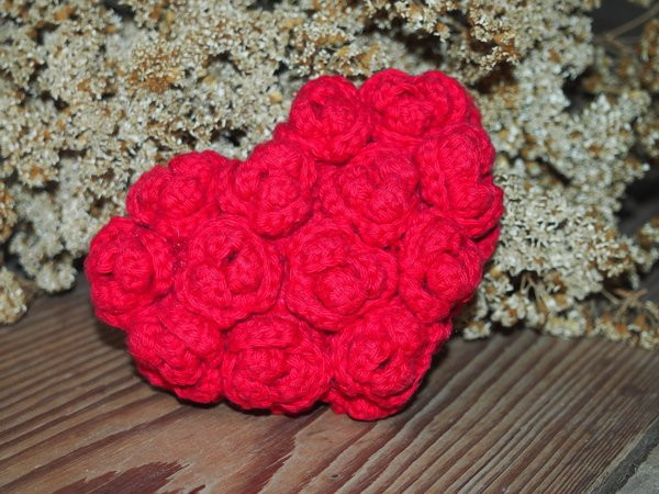 Red Heart Crochet Patterns Best Of Red Rose Heart Crochet Pattern Of Charming 49 Models Red Heart Crochet Patterns