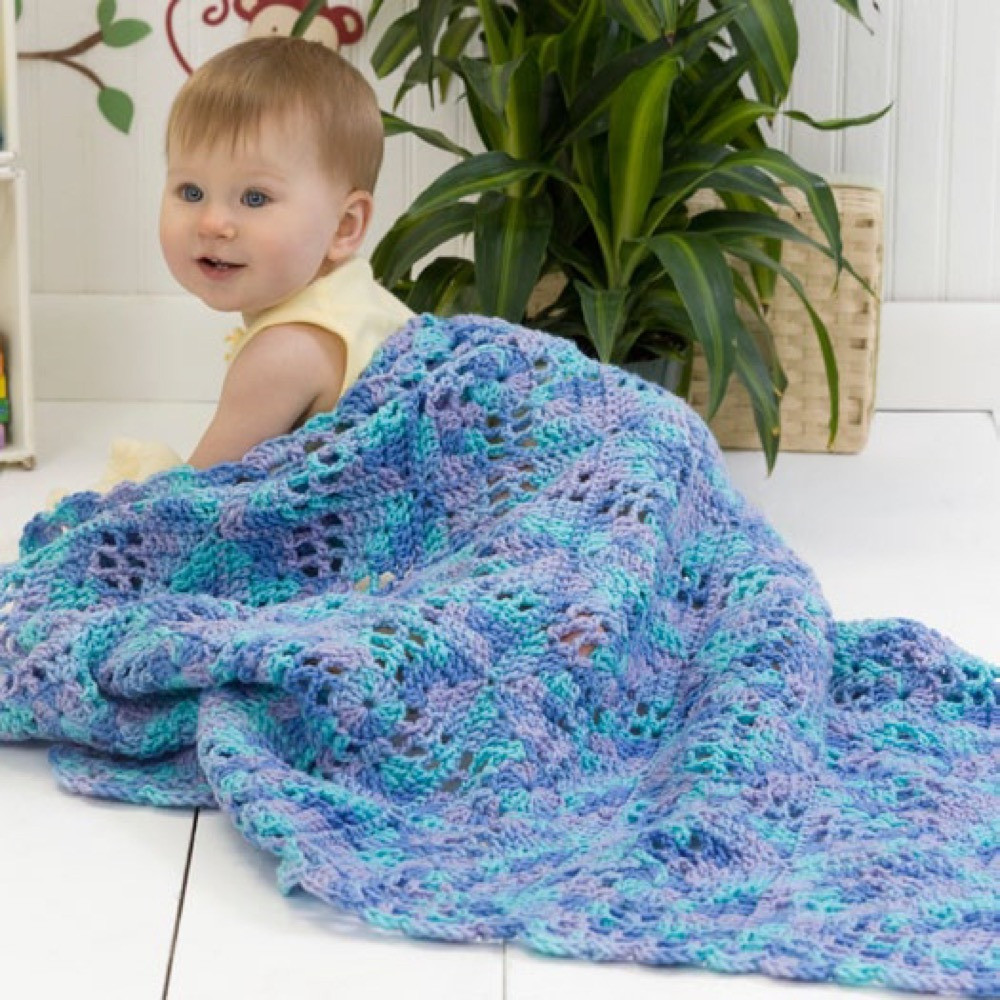 Red Heart Crochet Patterns Best Of Squares N Squares Baby Blanket In Red Heart Super Saver Of Charming 49 Models Red Heart Crochet Patterns