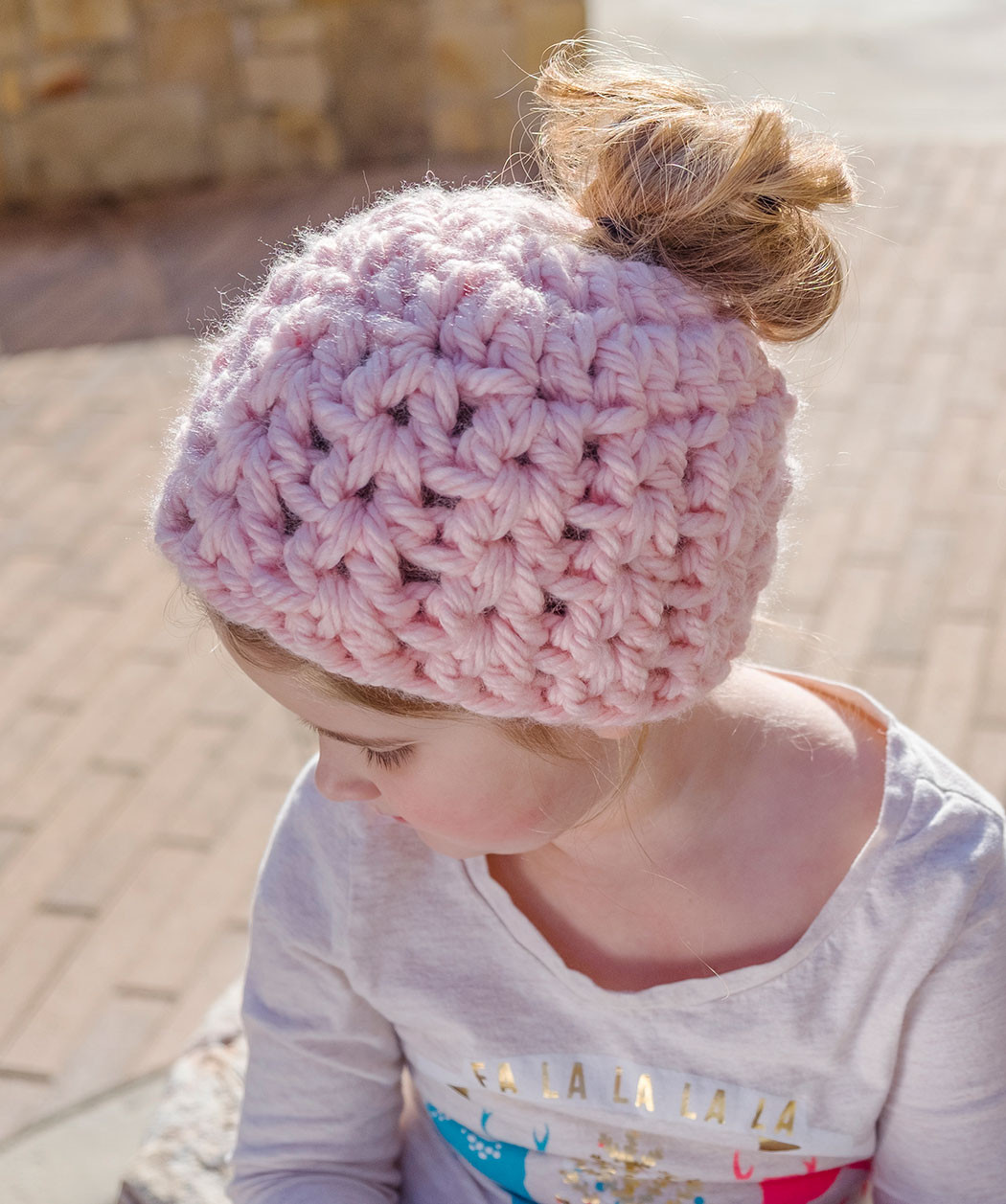 Red Heart Free Crochet Patterns Lovely Messy Bun Hat Pattern Collection Of Adorable 43 Images Red Heart Free Crochet Patterns