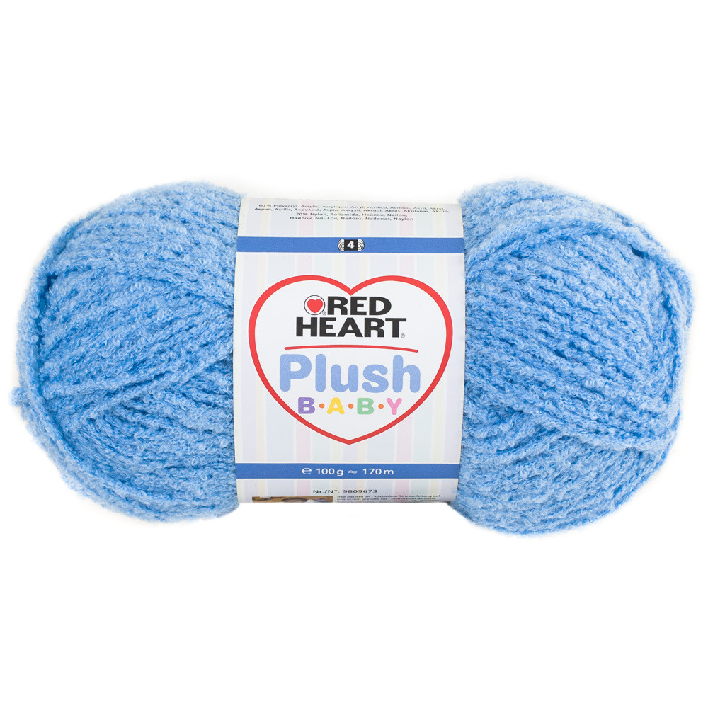 Red Heart Plush Baby Crochet Yarn & Wool