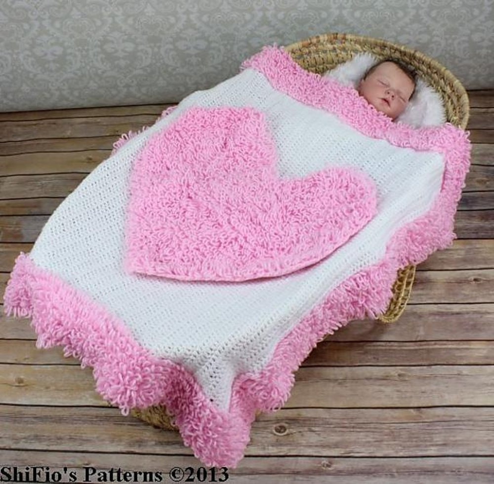 Red Heart Nylon Crochet Thread Lovely 228 Loopy Heart Baby Afghan Crochet Pattern 228 Crochet Of Amazing 43 Pictures Red Heart Nylon Crochet Thread