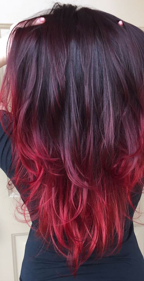 Red Heart Ombre Luxury 15 Ideas for Red Ombre Hair Of Delightful 46 Ideas Red Heart Ombre
