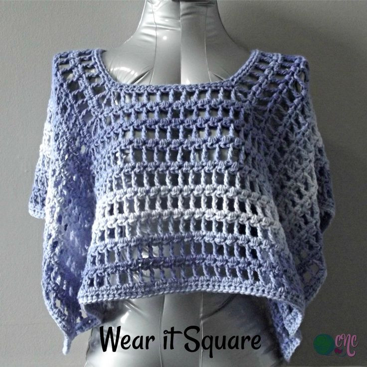 Red Heart Ombre Unique Free Crochet Pattern for the Simple Summer Poncho Using Of Delightful 46 Ideas Red Heart Ombre