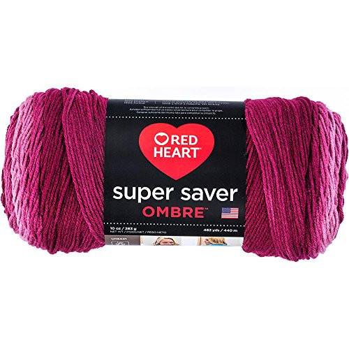 Red Heart Super Saver Ombre Yarn Featured in Free Crochet