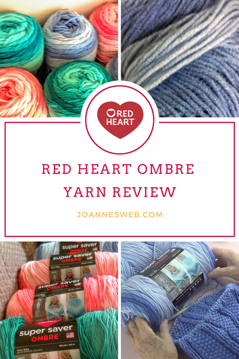 Red Heart Super Saver Ombre Yarn Review