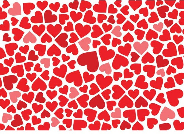 Red Heart Patterns Luxury Red Heart Pattern Background Valentine Day Vector Free Of Contemporary 46 Ideas Red Heart Patterns