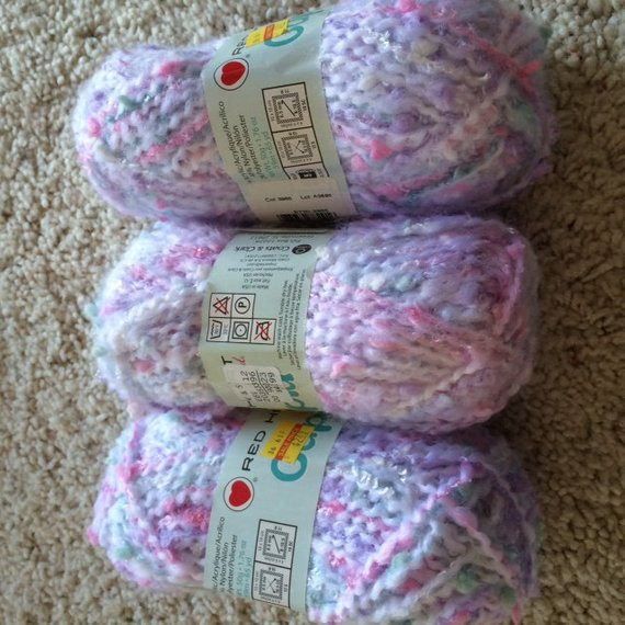 Red Heart Rainbow Yarn Awesome Red Heart Cupid Rainbow Bulky Yarn Crochet Knit by Of Luxury 41 Models Red Heart Rainbow Yarn