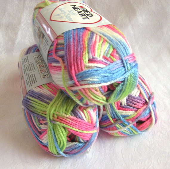 Red Heart Rainbow Yarn Beautiful Red Heart soft Yarn Giggle Print Rainbow Yarn by Crochetgal Of Luxury 41 Models Red Heart Rainbow Yarn