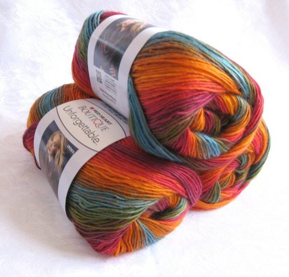 Red Heart Rainbow Yarn Best Of Boutique Unfor Table Yarn In Sunrise Rainbow by Crochetgal Of Luxury 41 Models Red Heart Rainbow Yarn