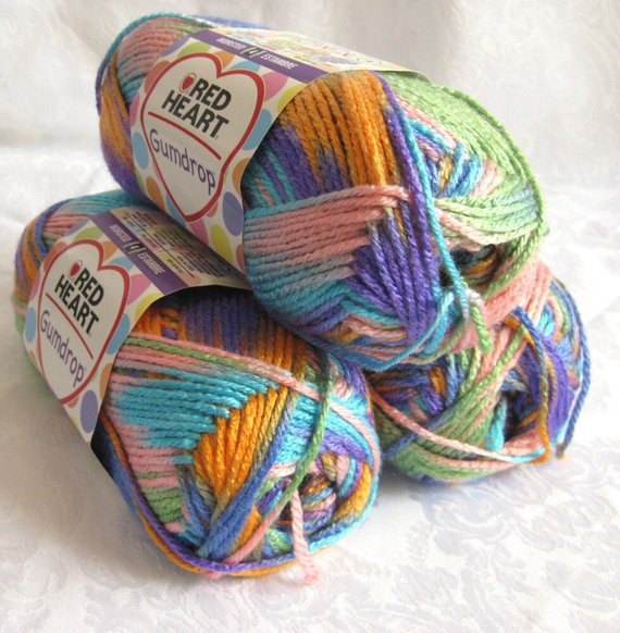 Red Heart Rainbow Yarn Best Of Red Heart Gumdrop Yarn Juicy Rainbow Worsted Weight by Of Luxury 41 Models Red Heart Rainbow Yarn