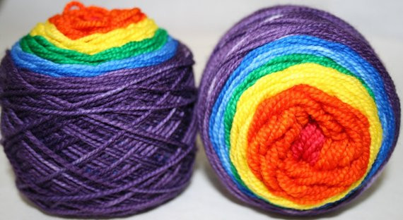 Red Heart Rainbow Yarn Unique Rainbow Gra Nt Superwash sock Yarn by Fishknitsyarn On Etsy Of Luxury 41 Models Red Heart Rainbow Yarn