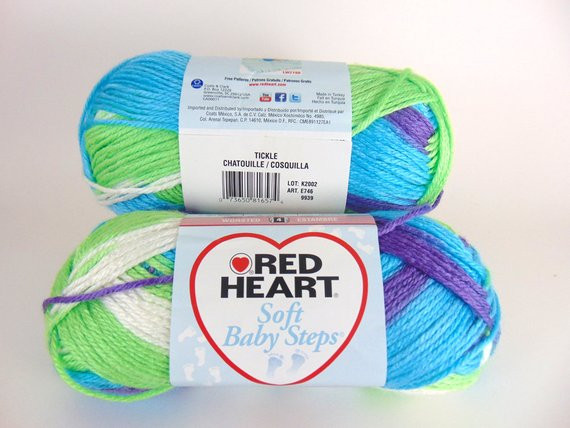 Red Heart soft Baby Steps Awesome Tickle Red Heart soft Baby Steps Variegated Yarn Baby Of Awesome 49 Ideas Red Heart soft Baby Steps