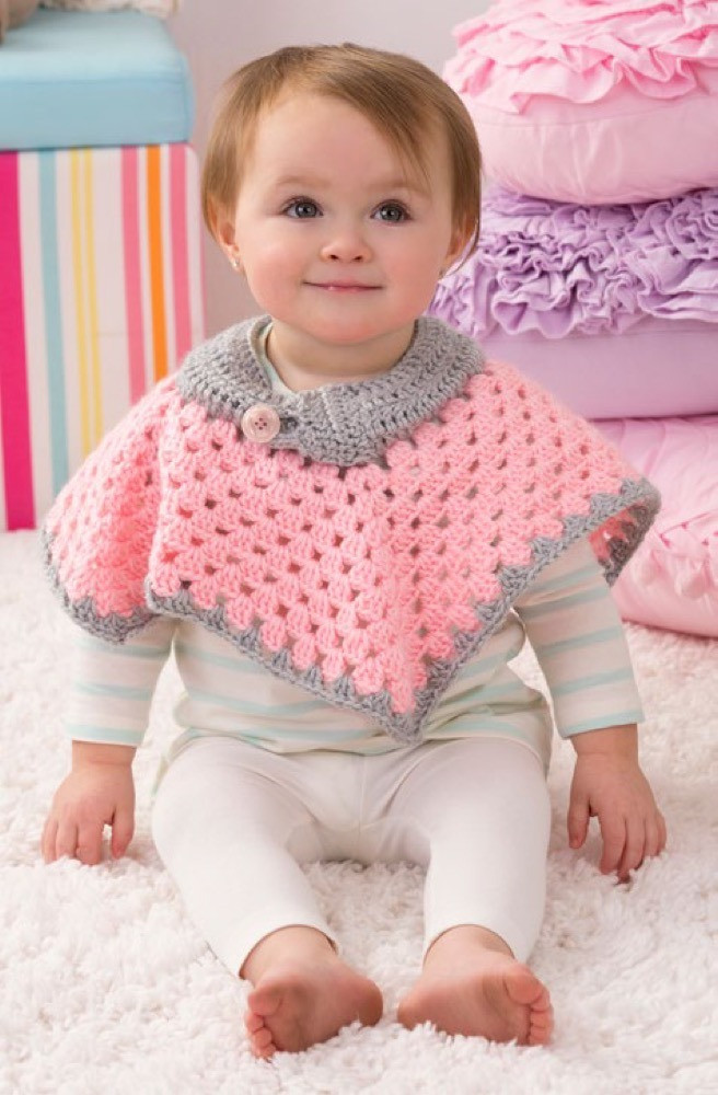 Red Heart soft Baby Steps Best Of Sweet Baby Poncho In Red Heart soft Baby Steps solids Of Awesome 49 Ideas Red Heart soft Baby Steps