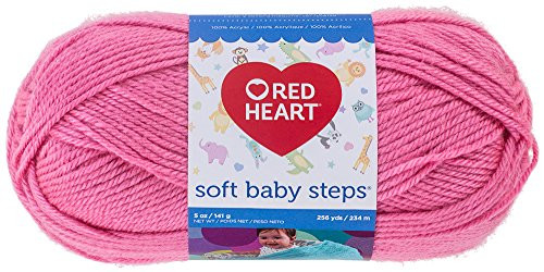 Red Heart soft Baby Steps Yarn Best Of Red Heart soft Baby Steps Yarn solid Strawberry Buy Of Innovative 40 Images Red Heart soft Baby Steps Yarn