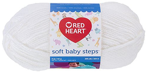 Red Heart soft Baby Steps Yarn New Red Heart soft Baby Steps Yarn solid White Acrylic Medium Of Innovative 40 Images Red Heart soft Baby Steps Yarn