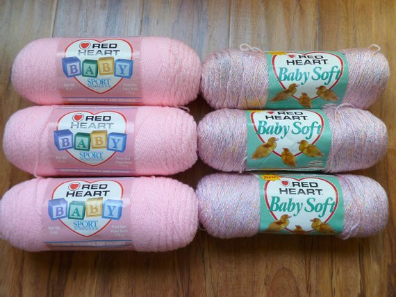 Red Heart soft Baby Yarn Lovely Red Heart Baby Sport soft Yarn Light Pink Rose Twinkle Mixed Of Brilliant 45 Ideas Red Heart soft Baby Yarn