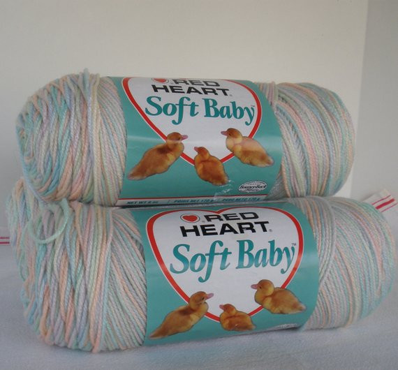 Red Heart soft Baby Yarn Lovely Red Heart soft Baby Yarn 3 6oz Skeins Pastel Fruit Of Brilliant 45 Ideas Red Heart soft Baby Yarn