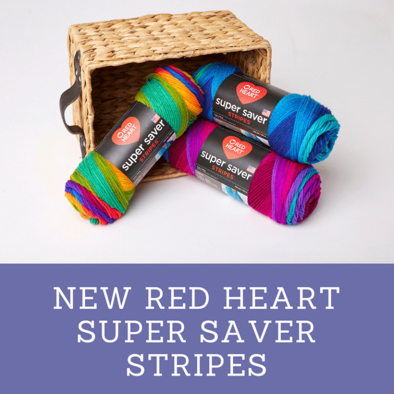 Red Heart Yarns New Super Saver STRIPES and OMBRE Marly Bird